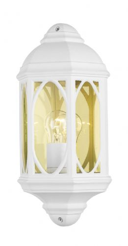 Tenby Wall Light White (Class 2 Double Insulated) BXTEN212-17